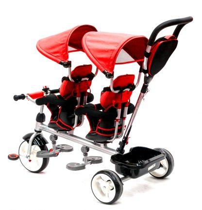 triciclo-gemelar-rojo-niños