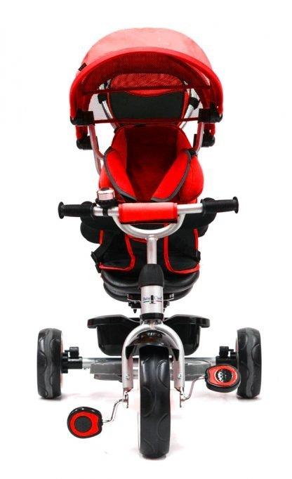 triciclo-gemelar-rojo-niños-duo
