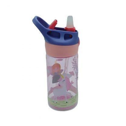 botella con boquilla para colegio princesa2