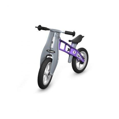bici de equilibrio con freno violeta Janabanana