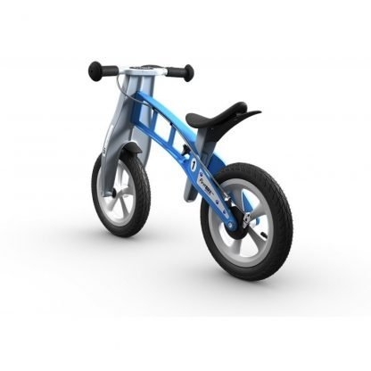 bicicleta sin pedales azul janabanana