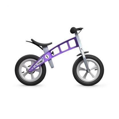 bicicleta sin pedales violeta first bike janabanana