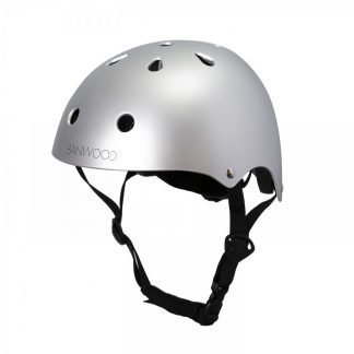 casco banwood para bici chrome mate janabanana