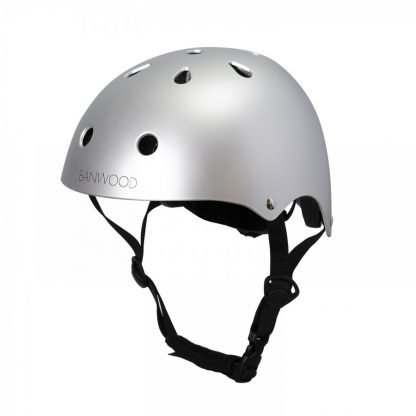casco banwood para bici chrome mate janabanana