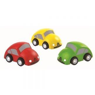 coches de madera infantiles