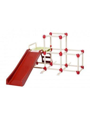 estructura-con-tobogan-para-niños