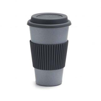 vaso bambu cafe gris
