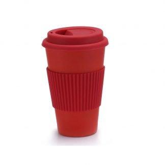 vaso bambu cafe rojo