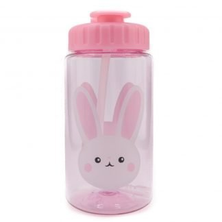 botella-tritan-con-pajita-conejo-450ml-Yollou