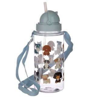 botella_plastico_con_pajita_450ml_dog_squad_JanaBanana