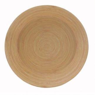 plato llano bambu redondo JanaBanana