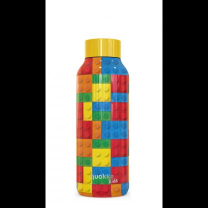 quokka-kids-botella-termo-solid-color-bricks-510-ml