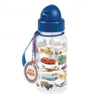 botella plastico con pajita transportes rex london janabanana
