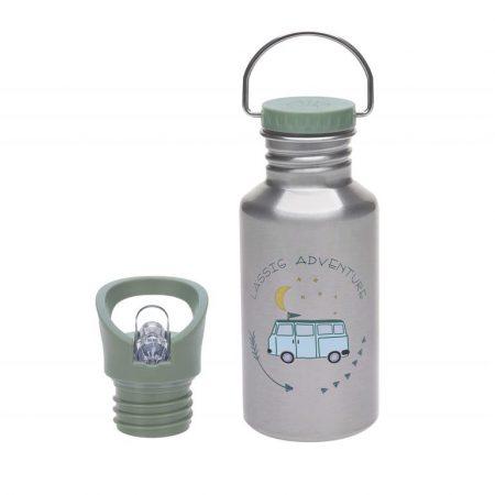 botella acero inoxidable adventure bus 500 ml lassig