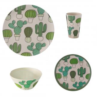 vajilla_bambu_camping_cactus_16_piezas_JanaBanana
