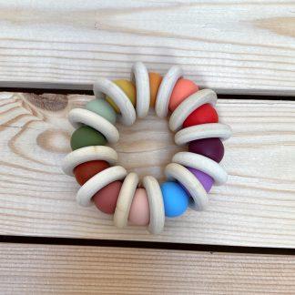 mordedor silicona perfect rainbow JanaBanana