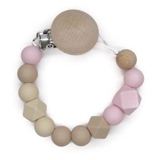 Chupetero-Silicona-Gradient-Pink-Sand-JanaBanana