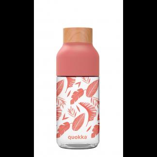 Botella Tritán Ice Pink Botanical 570 ml