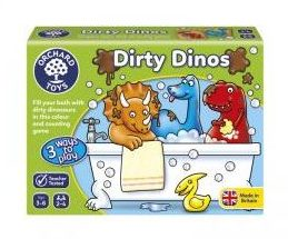 juego-mesa-dirty-dinos-Orchard-toys