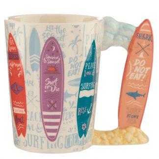 Taza Ceramica Surfs Up