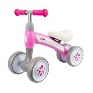 Correpasillos Bebe o Bicicleta sin pedales Rosa y Blanco