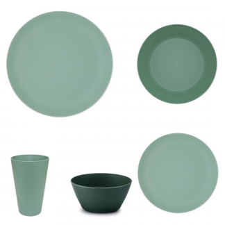 Vajilla-Bambu-Apta-Microondas-Verde-20-Piezas-JanaBanana