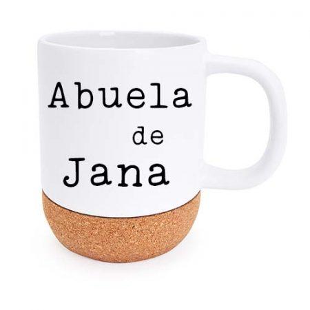 Taza personalizada rosella abuela de janabanana