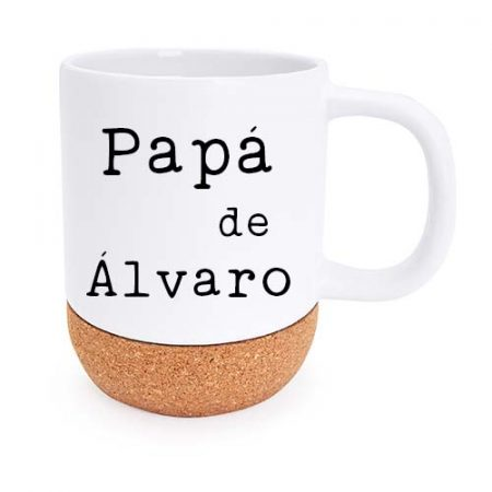 Taza personalizada rosella papa de janabanana 2