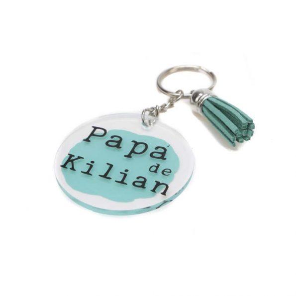 llavero personalizado papa de JanaBanana 2