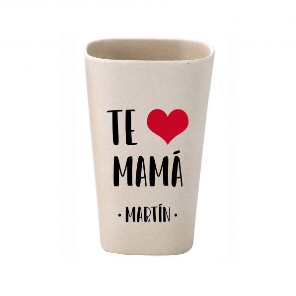 vaso personalizado bambu te quiero mama JanaBanana 3