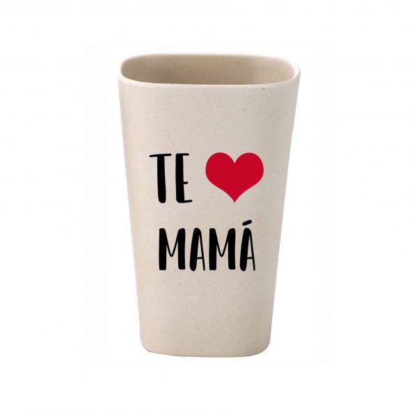 vaso personalizado bambu te quiero mama JanaBanana