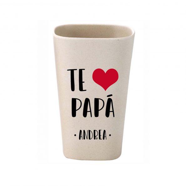 vaso personalizado bambu te quiero papa JanaBanana 3