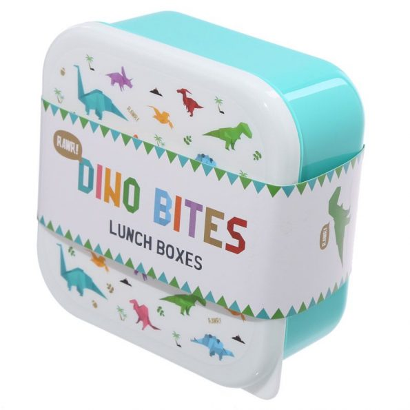 3 Cajas Almuerzo Dinosaurios 4