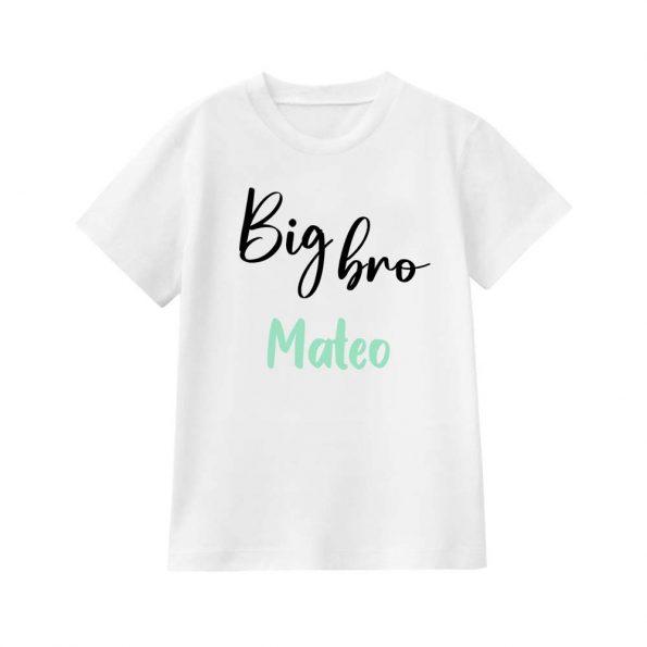 camiseta personalizable big bro JanaBanana 2