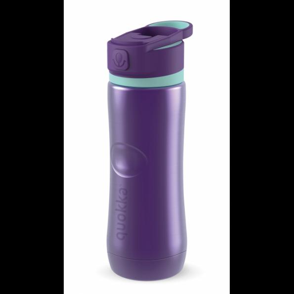 botella acero termica aqua violet 600 ml