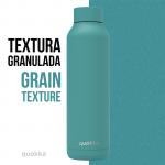 botella acero termicai bold turquoise powder 630 ml