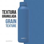 botella acero termica bright blue powder 630 ml