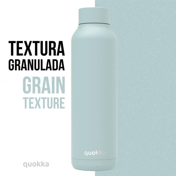 quokka botella termo acero inoxidable solid cool gray powder 630 ml 3