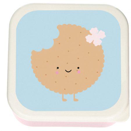 3 Cajas de Almuerzo Cookie Mediana
