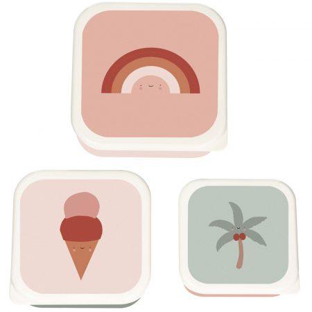 3 Cajas de Almuerzo Tropical