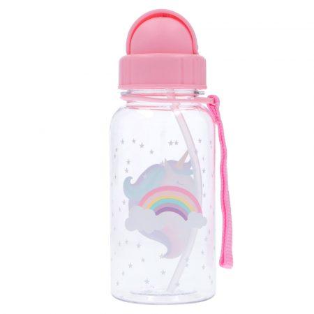 Botella Plastico unicornio Personalizable Tutete JanaBanana 2