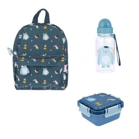 Pack vuelta al cole Little Monsters Personalizable JanaBanana