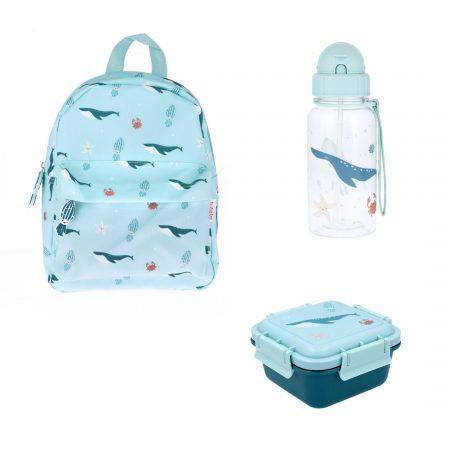 Pack vuelta al cole Ocean Personalizable JanaBanana