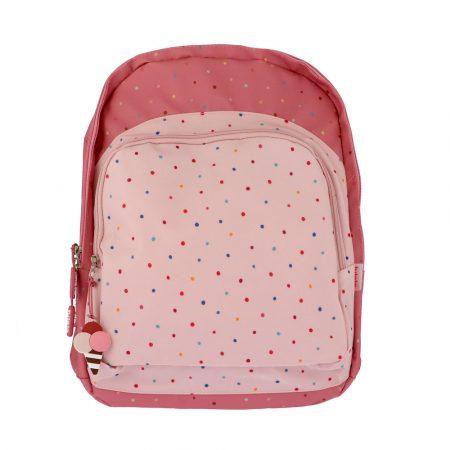mochila escolar grande confeti personalizable JanaBanana