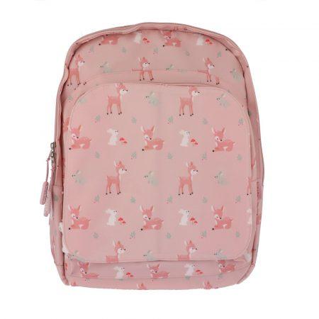 mochila escolar grande sweet deer personalizable JanaBanana