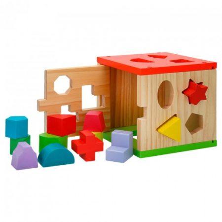 Cubo Actividades Encajables 14 piezas
