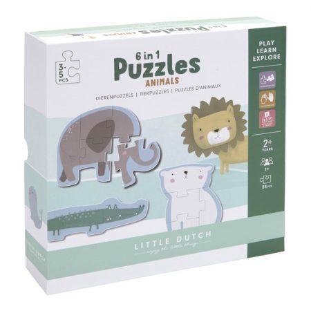 Puzzle Zoo Little Dutch JanaBanana